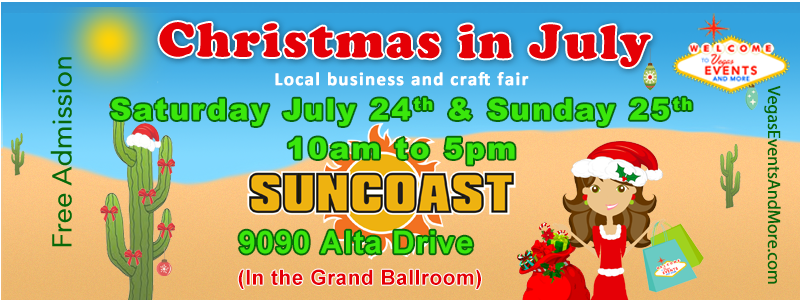Christmas Events In Las Vegas 2021 Event Details Christmas In July July 24th 25th